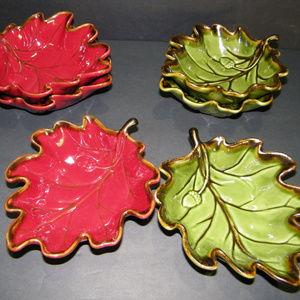 TARGET HOME Leaf Shape Dip Nuts Candy Serving Bowl